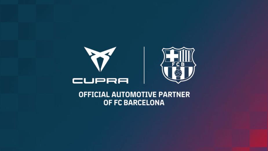CUPRA, FC Barcelona, aliança