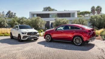 Mercedes-Benz GLE Coupé e Mercedes-AMG GLE 53 Coupé, 2019