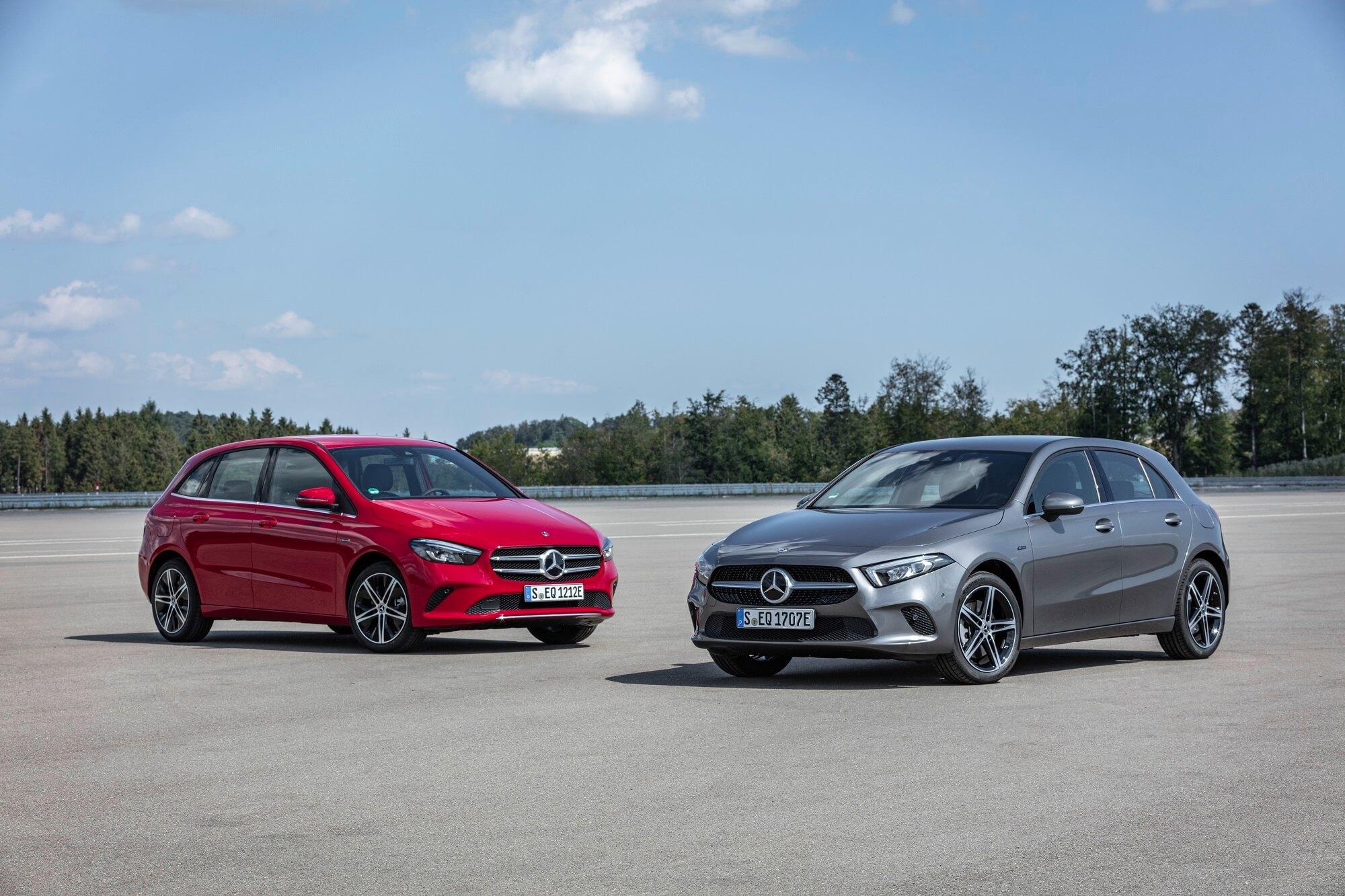 Mercedes Classe A e Classe B Hibrido