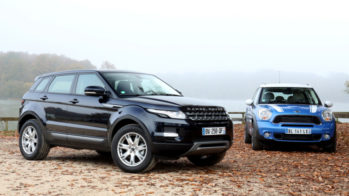 Range Rover Evoque vs Mini Countryman