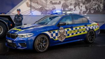 bmw m5 competition, polícia australiana