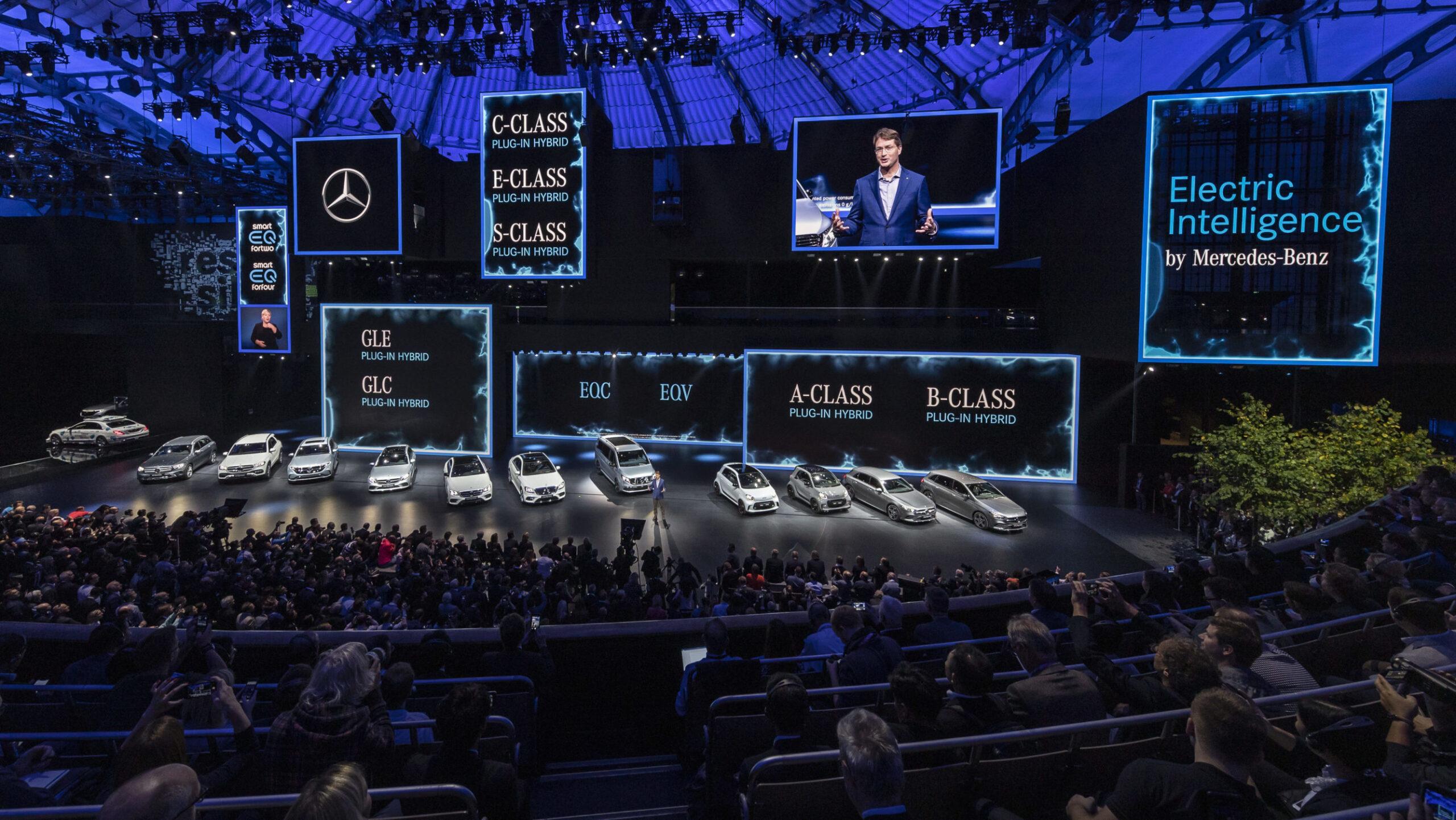 Mercedes-Benz, conferência imprensa Frankfurt 2019