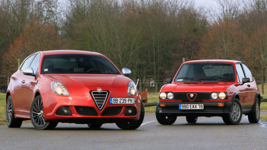 Alfa Romeo Giulietta e Alfasud
