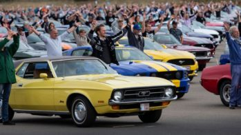 Ford Mustang recorde