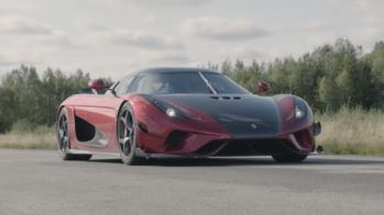 Koenigsegg Regera recorde