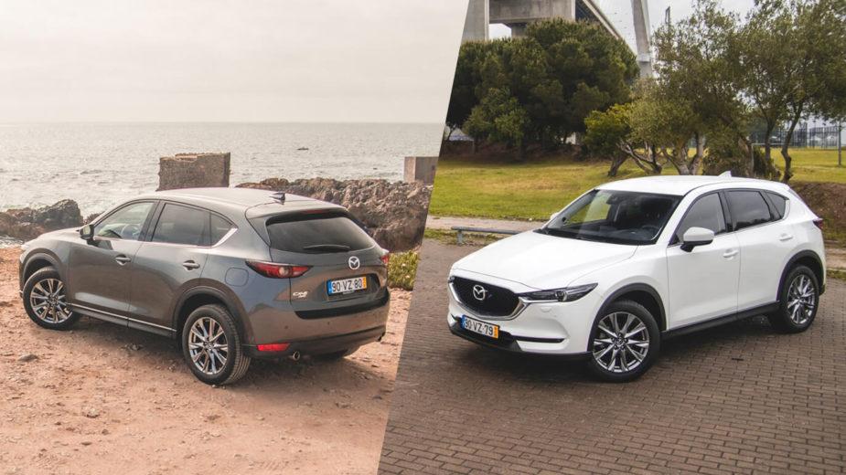 Mazda CX-5 2.0 Skyactiv-G e CX-5 2.5 Skyactiv-G