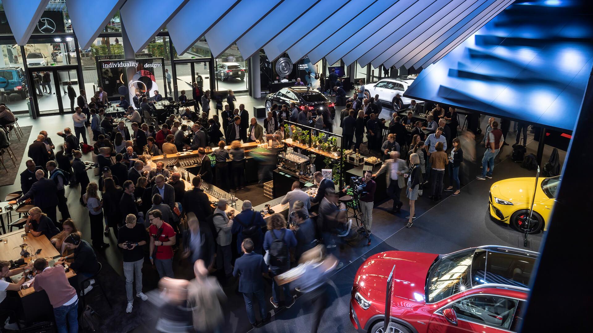 Mercedes-AMG no Festhalle, Frankfurt, 2019
