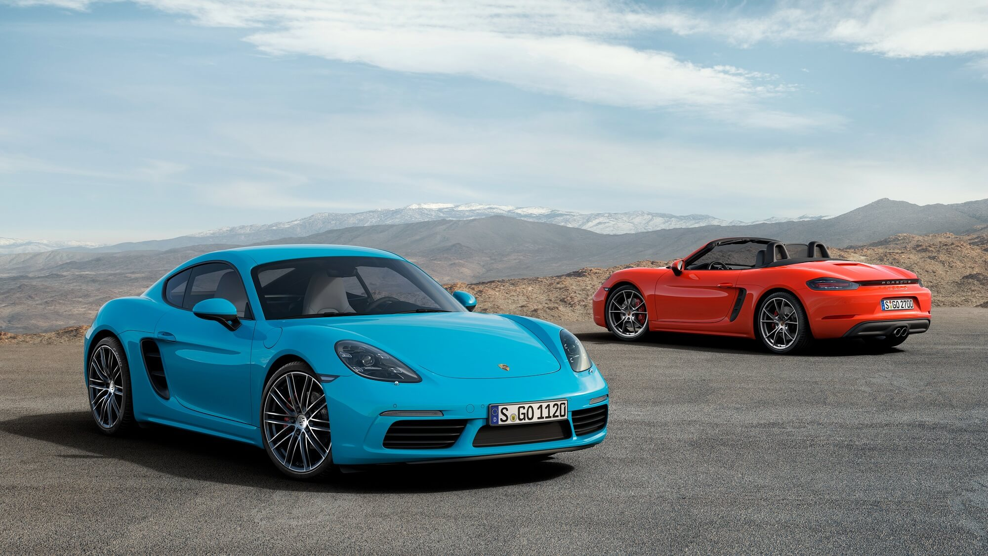 Porsche 718 Cayman e Boxter