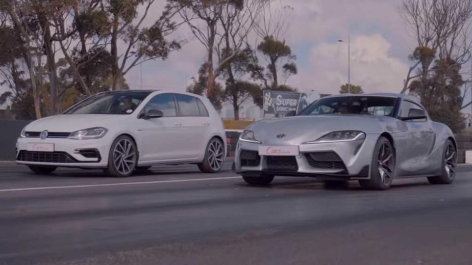 Toyota GR Supra vs Volkswagen Golf R