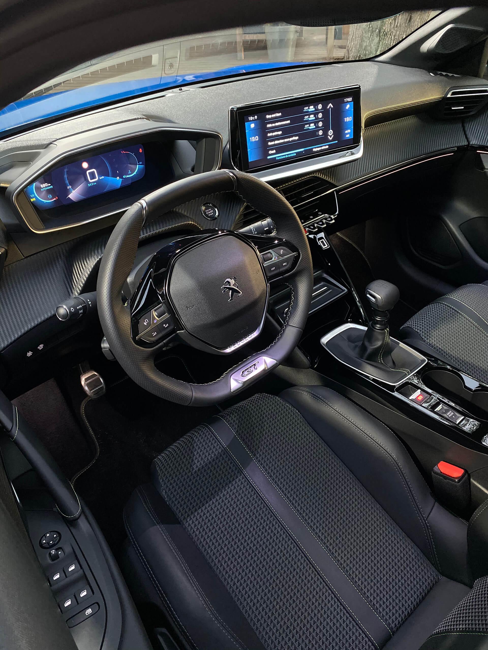 Peugeot e-208 GT, 2019