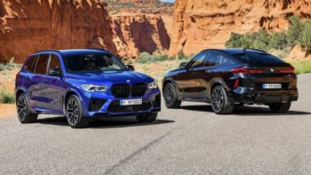 BMW X5 M Competition e BMW X6 M Competition