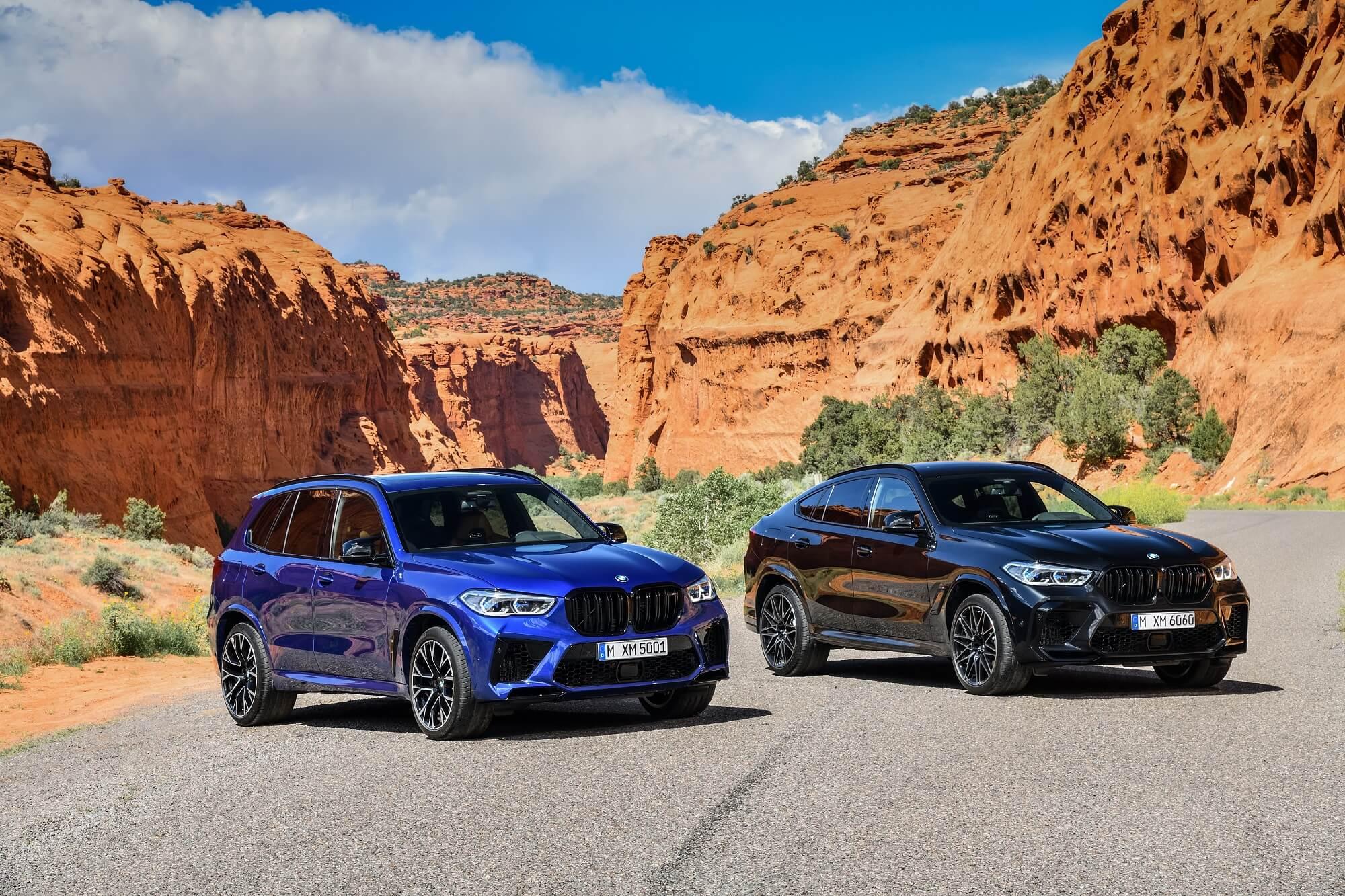 BMW X5 M e X6 M