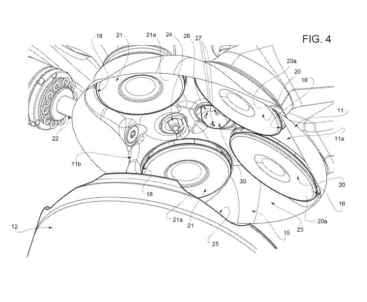 Ferrari V12 patente