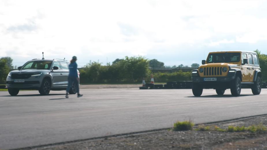 Jeep Wrangler e Skoda Kodiaq RS