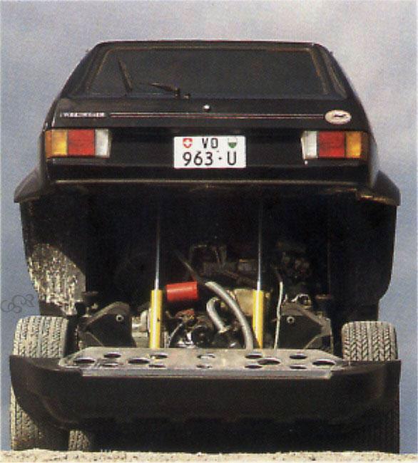 Volkswagen Golf Turbo Sbarro