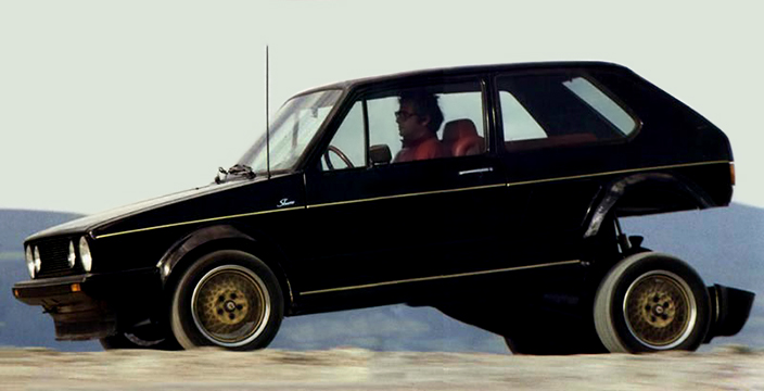 Volkswagen Golf Turbo Sbarro
