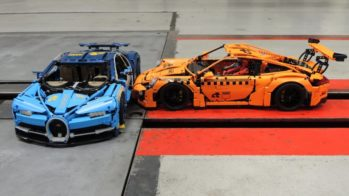 ADAC crash-test Porsche 911 GT3 RS e Bugatti Chiron