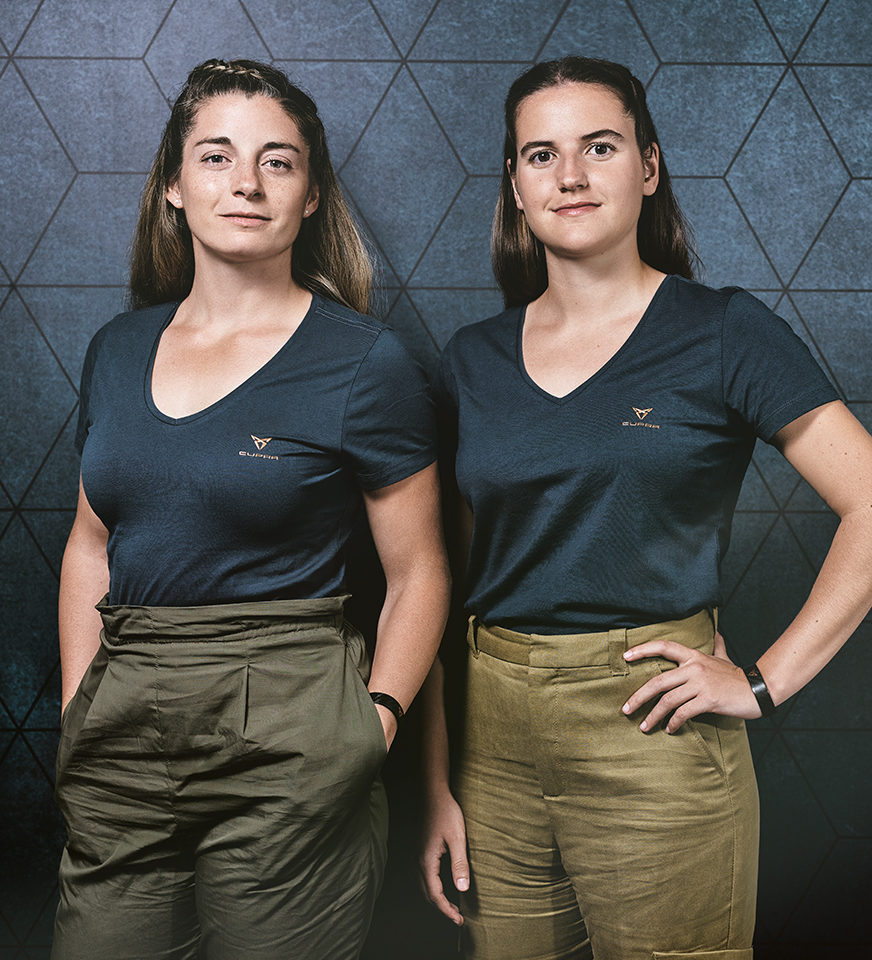 Alejandra Salazar and Ariana Sanchez as CUPRA Ambassadors