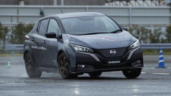 Nissan Leaf twin motor
