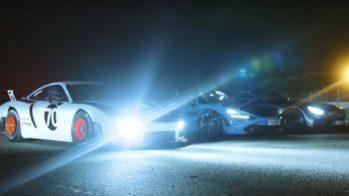 Porsche 935 vs McLaren 720S Spider vs Mercedes-AMG GT R PRO