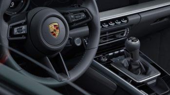 Porsche 911 992 caixa manual