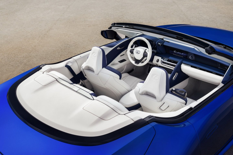 Lexus LC 500 Convertible, 2020