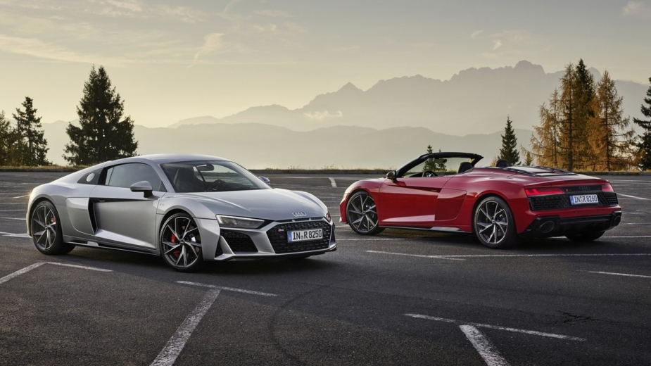 Audi R8 V10 RWD, Audi R8 Spyder V10 RWD, 2020