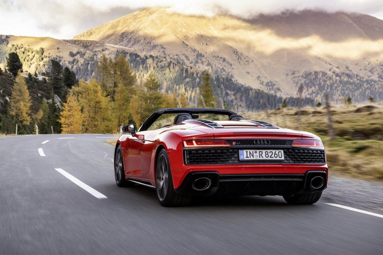 Audi R8 Spyder V10 RWD, 2020