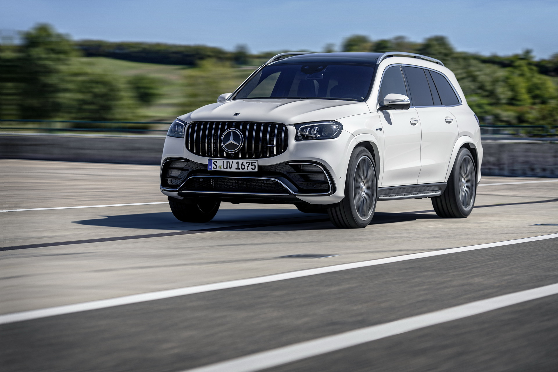 Mercedes-AMG GLS 63 4Matic+, 2020