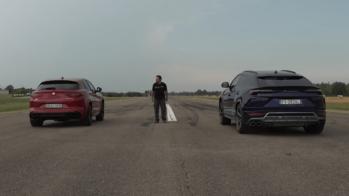 Alfa Romeo Stelvio Quadrifoglio vs Lamborghini Urus