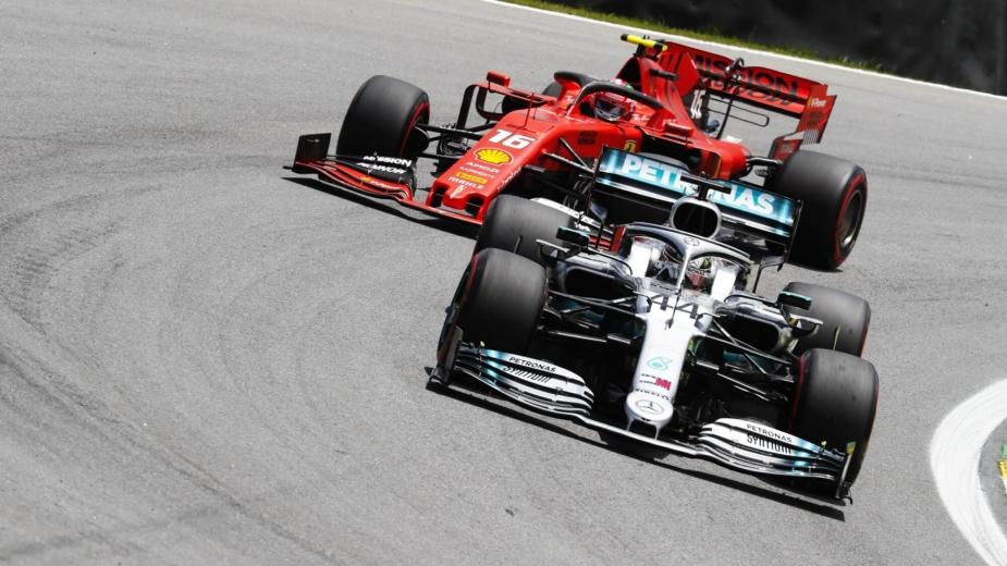 Ferrari e Mercedes F1