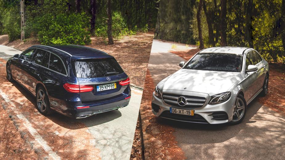 Mercedes-Benz Classe E 300 de Station, Mercedes-Benz Classe E 300 e Lomousine