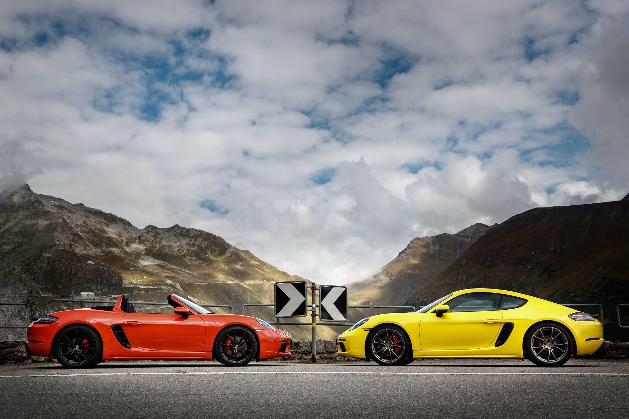 Porsche 718 Boxter e Cayman