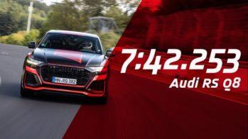 Audi RS Q8 recorde Nurburgring