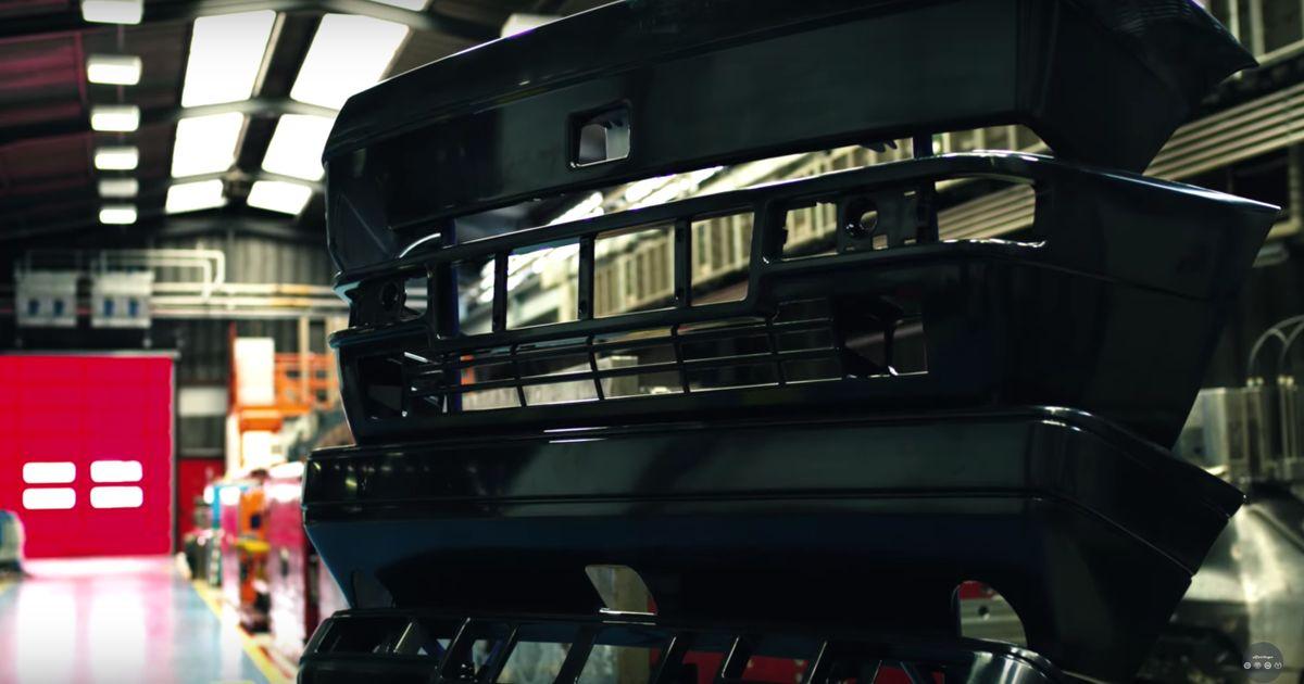 Lancia Delta HF Integrale para-choques