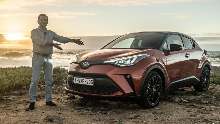 Toyota C-HR 2020 vídeo