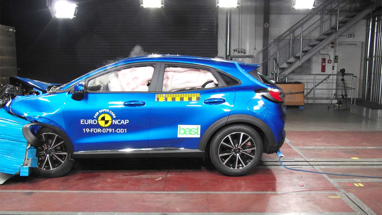 Ford Puma Euro NCAP
