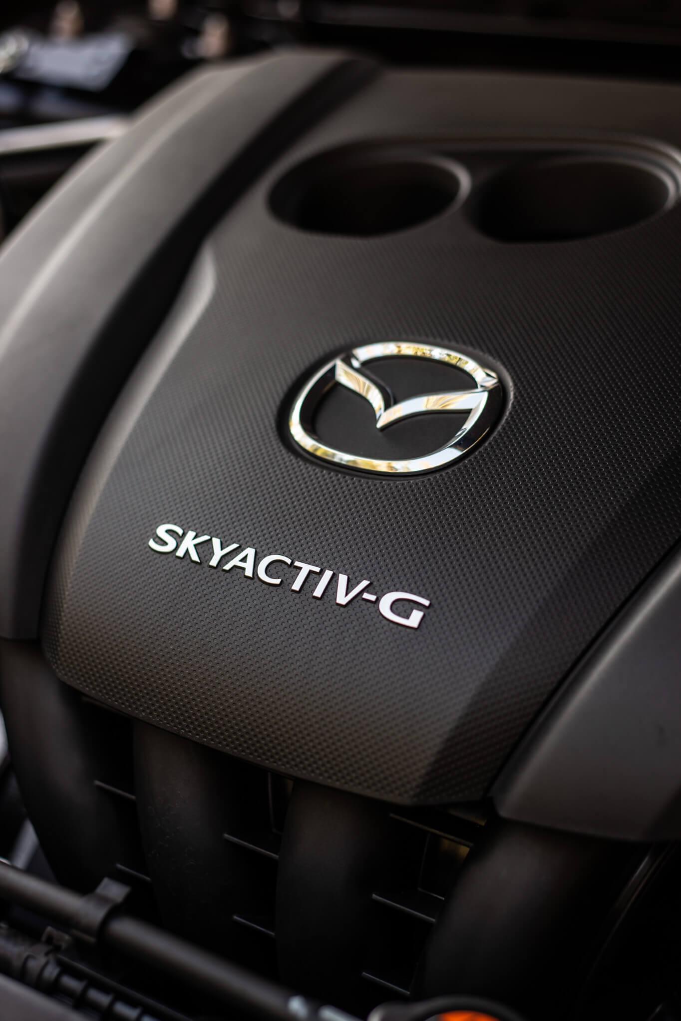 Motor Skyactiv-G 2.0 l, 122 cv