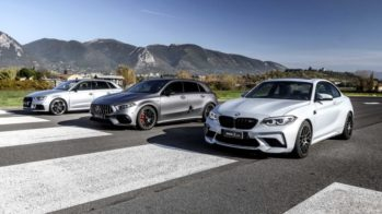 Mercedes-AMG A 45 S, BMW M2 Competition, Audi RS3