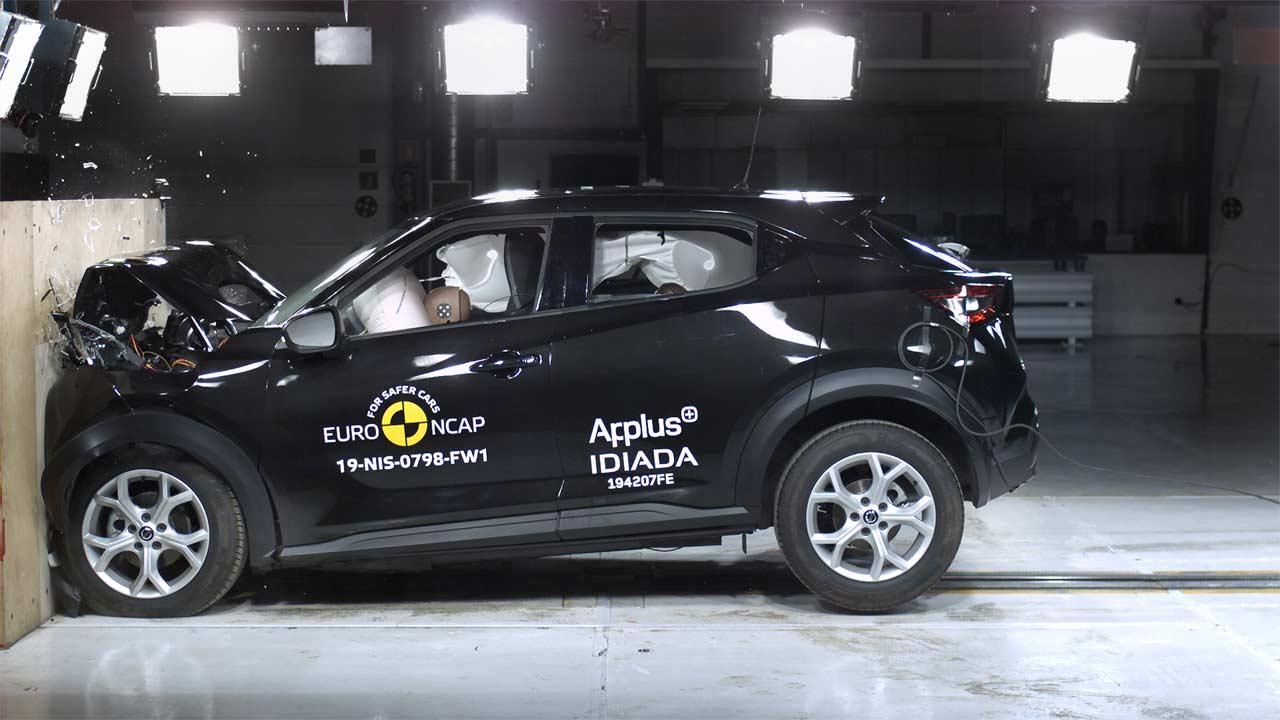 Nissan Juke Euro NCAP