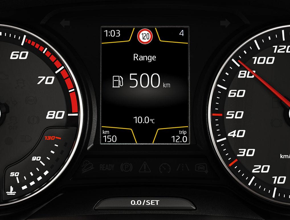 SEAT Leon reconhecimento de sinais