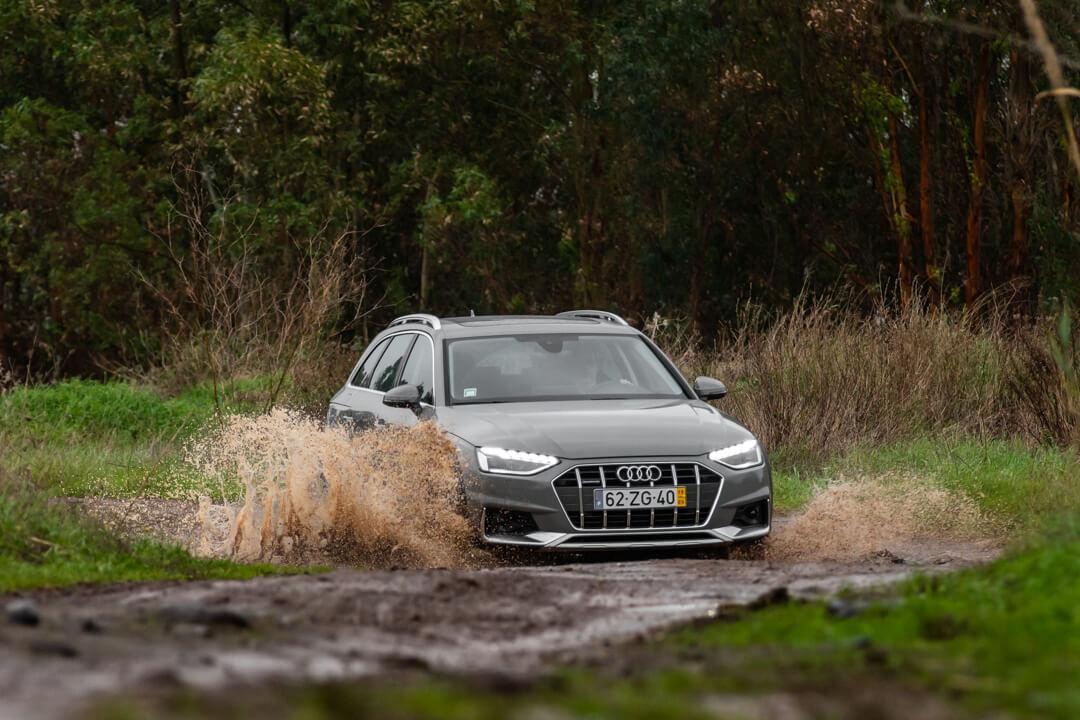 Audi A4 Allroad 40 TDI vs Volvo V60 Cross Country D4 190