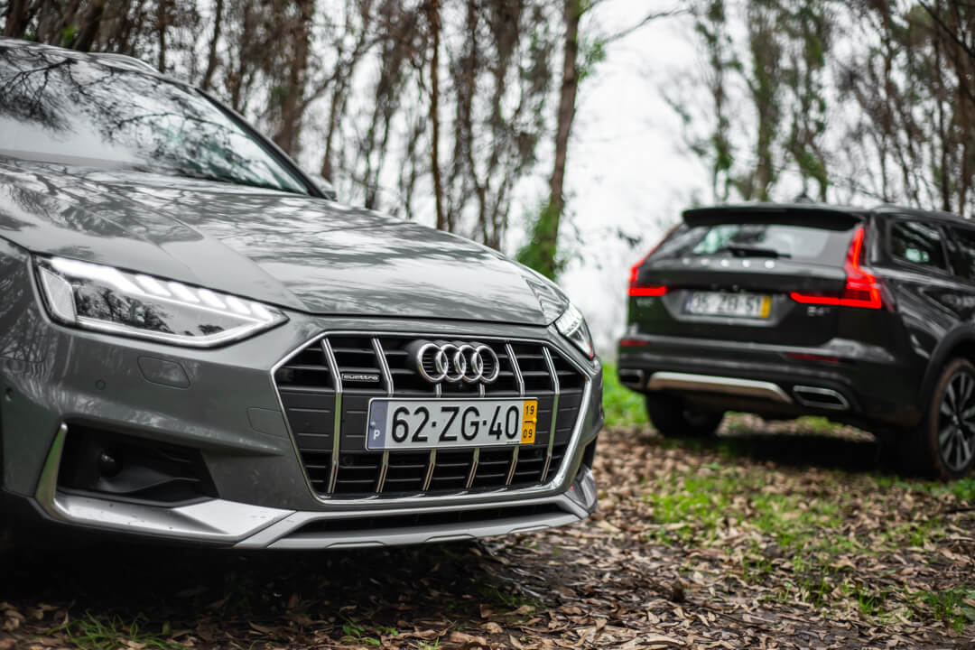 Audi A4 Allroad 40 TDI vs Volvo V60 Cross Country D4 190