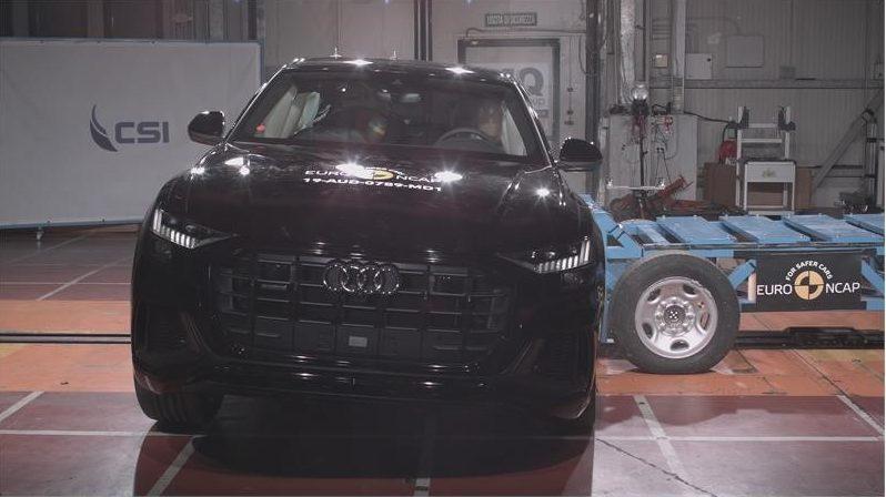 Audi Q8 Euro NCAP