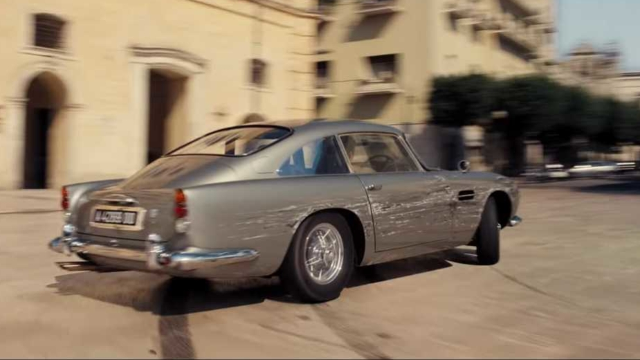 Aston Martin DB5, James Bond, No Time to Die