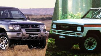 Mitsubishi Pajero e Nissan Patrol
