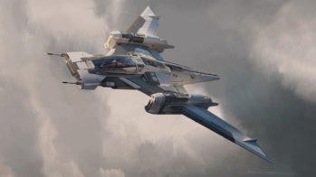 Tri-Wing S-91 x Pegasus Starfighter