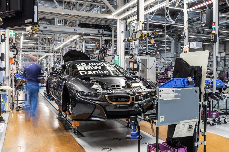 BMW i8 Ultimate Sophisto Edition, nº 20 000 produzido
