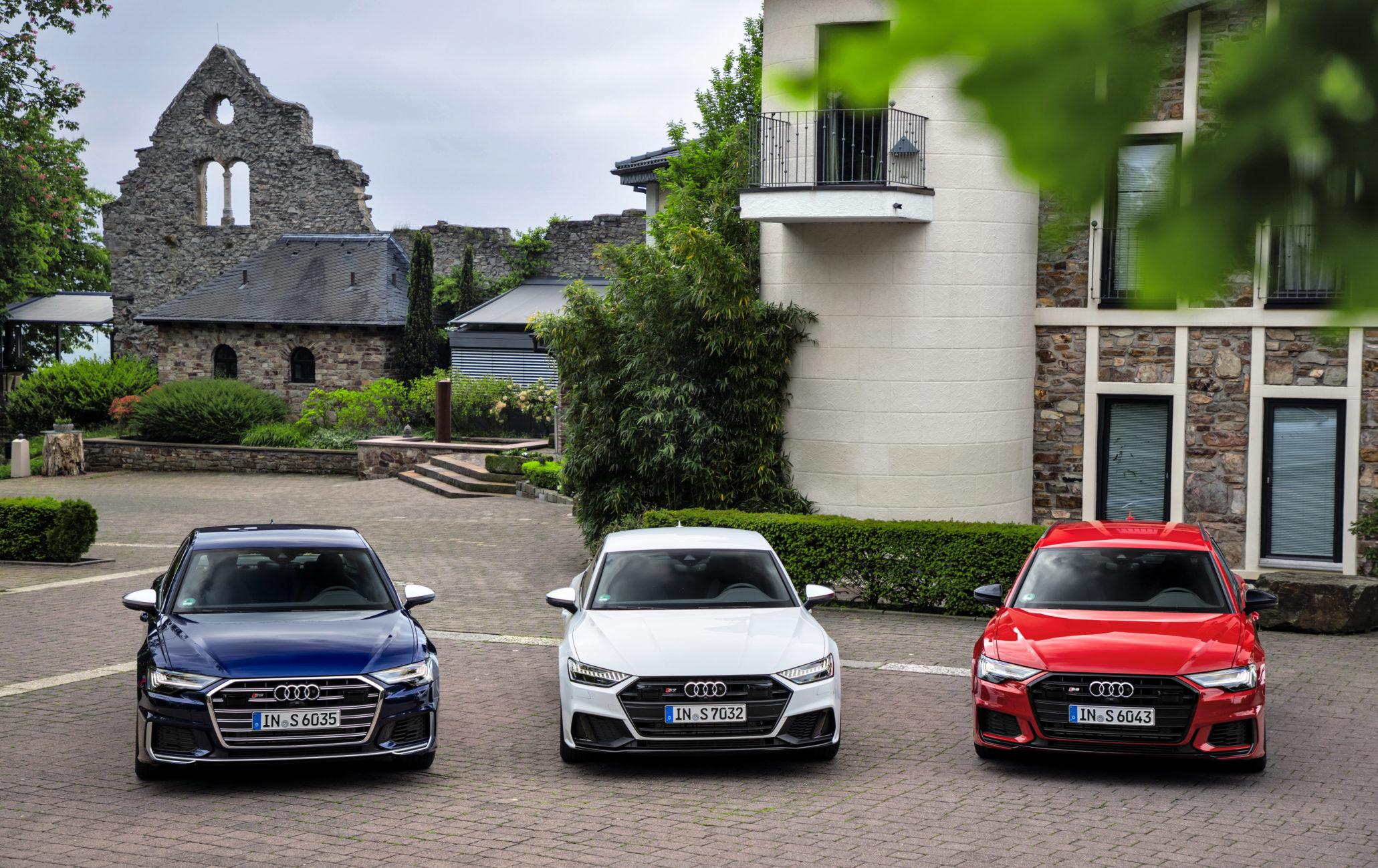 Audi S6, Audi S7 Sportback, Audi S6 Avant