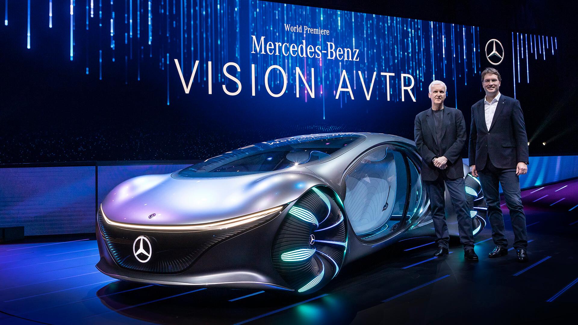 CES 2020 Mercedes-Benz Vision AVTR